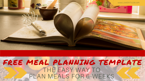Free Meal Planning Binder