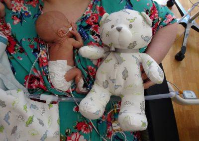 Micro Preemie NICU Bear Kangaroo Care