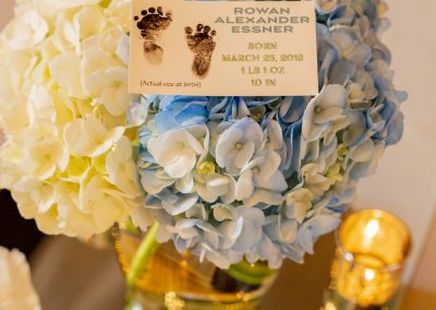 Preemie NICU Baby Shower Centerpiece