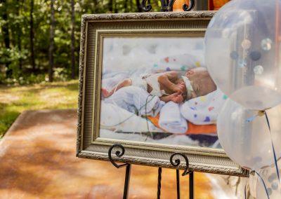 Preemie NICU Baby Shower Frame