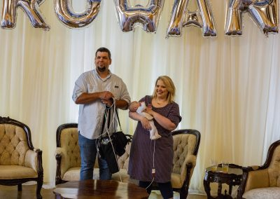 Preemie NICU Baby Shower Parents
