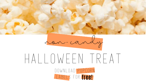 Halloween Popcorn for Trick-or-Treaters